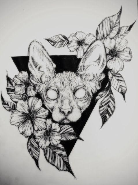 Attractive Geometric Tattoo Ideas Cat Tattoo Designs Geometric Tattoo Cat Tattoo