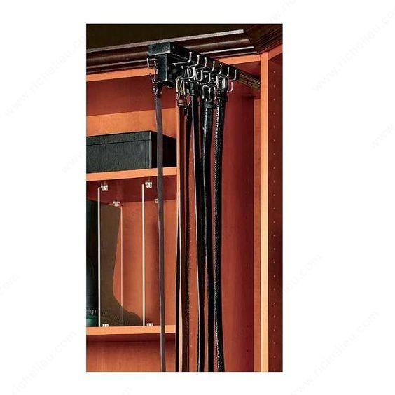Support coulissant pour ceintures à montage par le haut - CWTBR14B1 - Quincaillerie Richelieu
