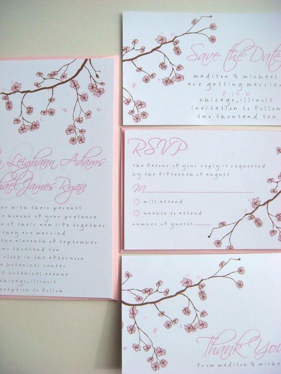 Madison Wedding Invitation by Backwoods Design Studio: