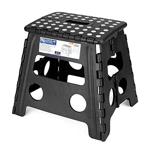 Acko Folding Step Stool 13 Inch Height Premium Heavy Duty