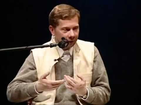 Eckhart Tolle - How to inhabit your body in a stressful environment