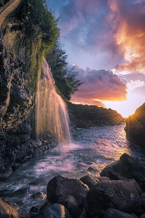 Wai Kai Ii Print By Hawaii Fine Art Photography