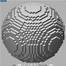 A website to help you create spheres in minecraft