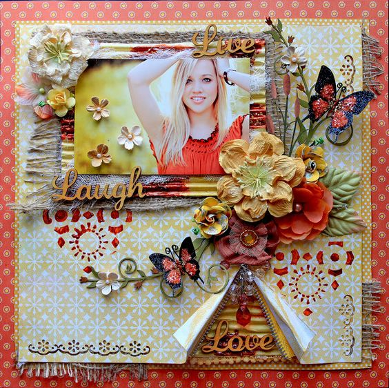 Reneabouquets's Gallery: Live, Laugh, Love **Scraps Of Darkness** July Kit~Gypsy Summer