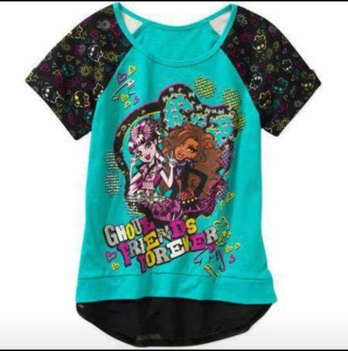 Girl's Monster High Top Size 10/12 https://t.co/egl5EywCbz https://t.co/fI0TPIwxaB