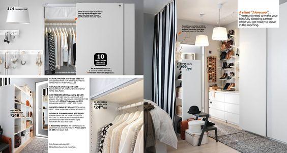 IKEA Catalog 2016divde the room with a curtain to make a closer