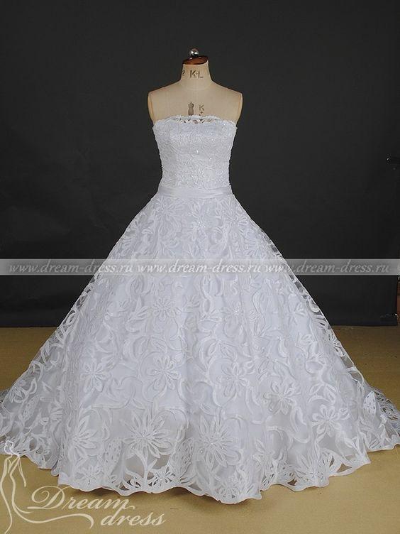 Пышные свадебные  спб недорого
