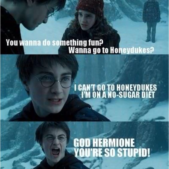 Even Harry Potter knows how quotable a movie Mean Girls is.