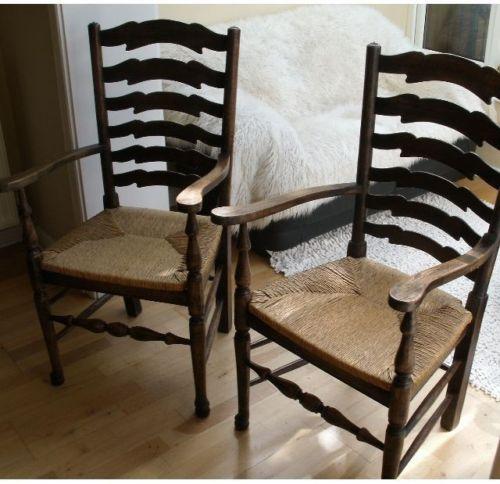 handmade-english-oak-ladder-back-dinning-chairs