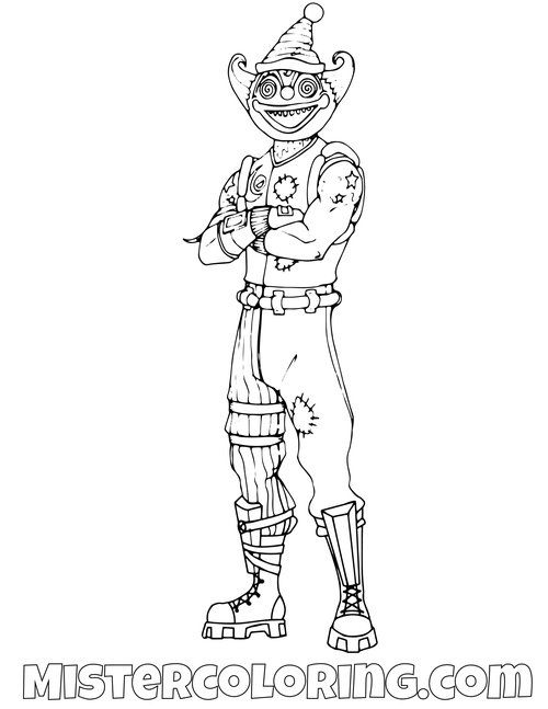 Fortnite Coloring Pages For Kids Mister Coloring In 2020 Coloring Pages Coloring Pages For Kids Color