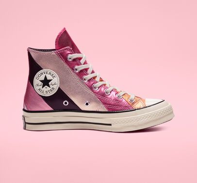 Converse Chuck 70 Metallic Rainbow High Top Womens Shoe