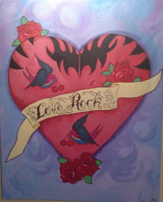 """""""My Heart is all of a Tat -too"""" by Sarah Elizabeth Whitehead (2010)"""