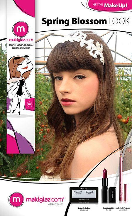 Get the MakeUp – Spring Blossom #makeup #beauty #getthelook - bellashoot.com