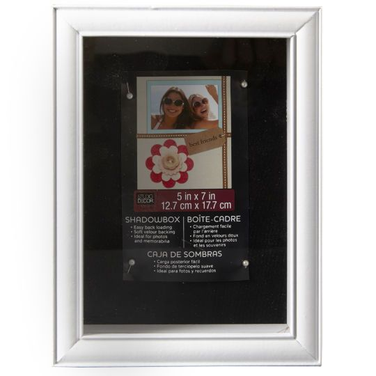 <div>Capture your memories for years to come in this white shadowbox. Show off your ribbons, med 11 8x111/2