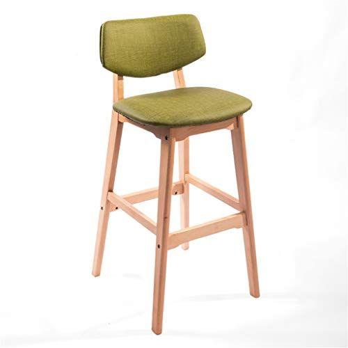 Jhome Barstools Modern Bar Stool Upholstered Footrest And Backrest Widen Curved Green S Upholstered Bar Stools Wooden Dining Chairs Modern Bar Stools