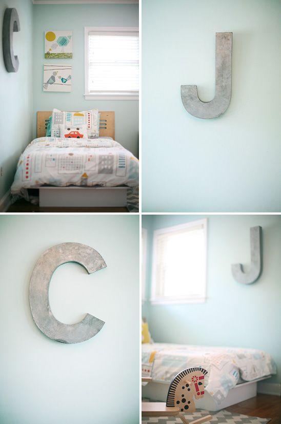 Modern Aqua Child's Room
