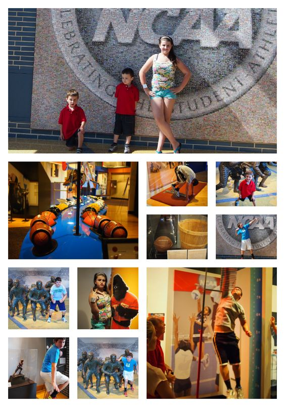 Summer Travel with Teens and Tweens: NCAA Hall of Champions in Indianapolis