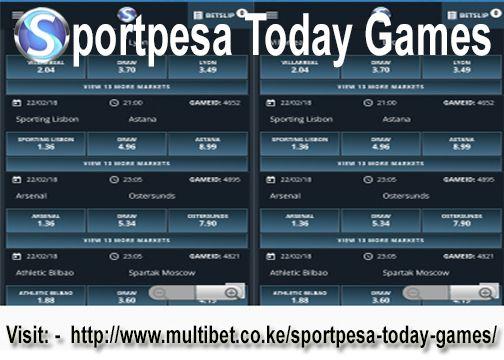 sportpesa todays games betting