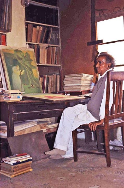 These humble creations are redolent of those old days when we were making efforts to live and dream with the brethren of this land...this background of my art should not be lost sight of. * Art Master A.R. Chughtai
