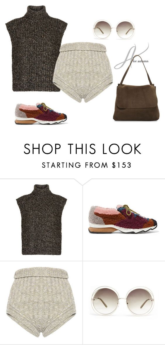 """Untitled #3236"" by doinacrazy ❤ liked on Polyvore featuring Étoile Isabel Marant, Fendi, Philosophy di Lorenzo Serafini, Chloé and The Row"