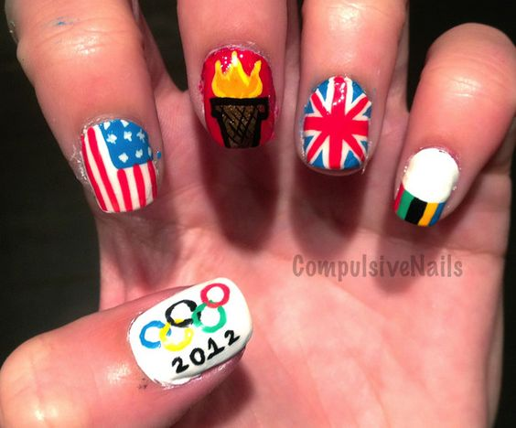 Olympic Nail Art Roundup!
