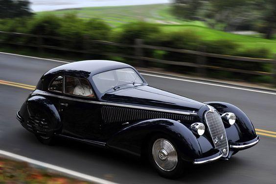 1938 Alfa Romeo 8C 2900B Berlinetta Touring