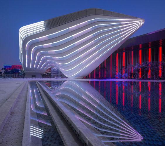 Shizimen Central Business District / 10 Design #architeture #pin_it @mundodascasas Veja mais aqui(See more here) www.mundodascasas.com.br