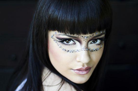 Maquillaje Avatar Mujer Todo Tipo De Disfraces Con Gente Que Ya Lo