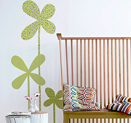 How to put lucky clover onto your wall