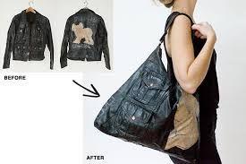 Resultado de imagen para repurposed leather jacket