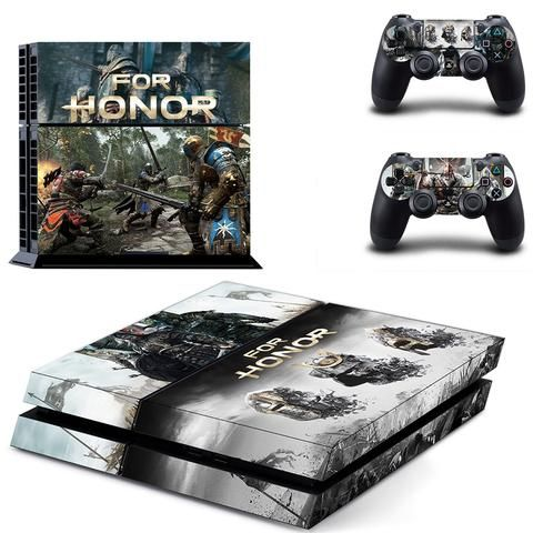For Honor game ps4 skin decal for console and 2 controllers