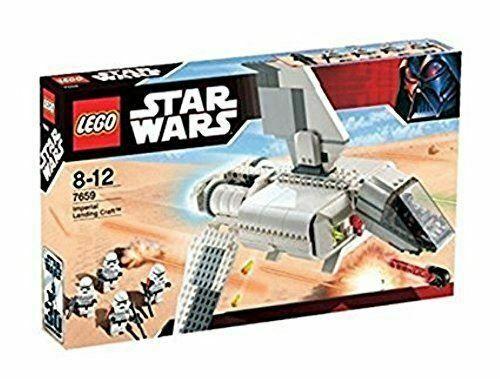 Lego Star Wars 7659 Imperial Landing Craft Construction Toy Playset In 2020 Lego Star Wars Sets Lego Star Wars Lego