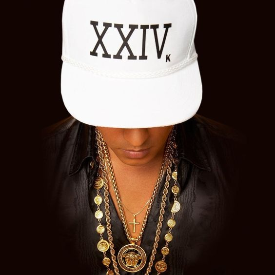 Bruno Mars – 24K Magic (single cover art)