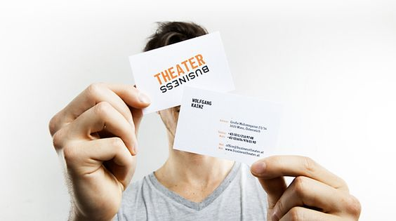 Цветовые акценты    Corporate & Brand Identity – Business Theater by Mick Gapp, via Behance