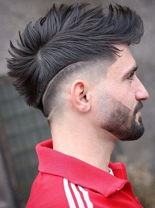 Mohawk And Fade Haircut For Men 2020 Haircuts For Men Mens Hairstyles With Beard Mens Haircuts Fade