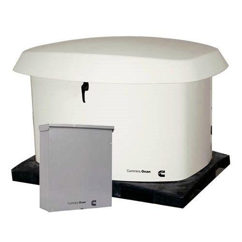 Onan Control Board Operation: Cummins Onan 20kW NG/LP Standby Generator Cold Weather