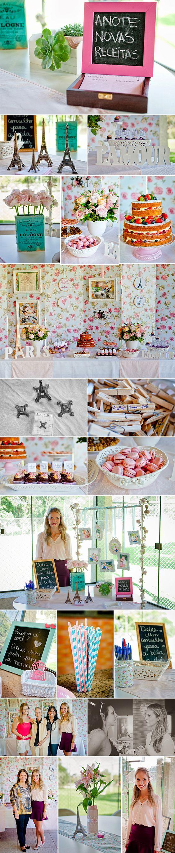 Chá de Panela: Naila Tema PARIS! http://lapartiediva.com.br/festas-cha-de-panela-naila-paris/: