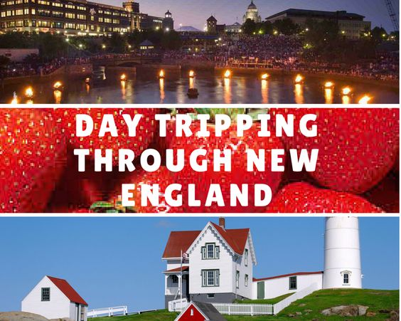 Easy, kid friendly day trips in New England that all kids will enjoy.  Visit Ipswich, go strawberry picking, Providence Zoo, Water Fire, York Maine.  Day Tripping Through New England | Boston Moms Blog