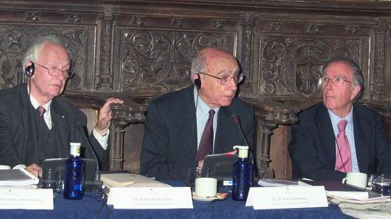 El economista y matemático Reinhard Selten, miembro de la Academia Europea de…