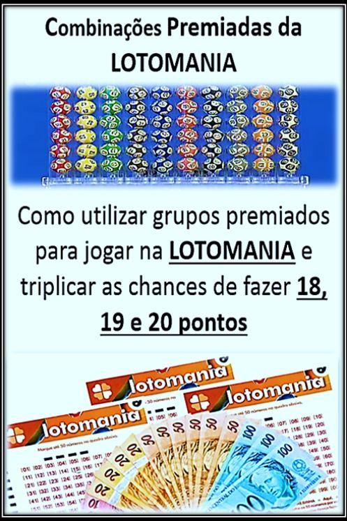 Pin De Cattaneo Em Dicas Loterias Lotomania Lotomania Como