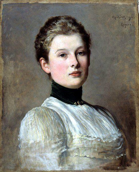 Portret Jadwigi Sienkiewiczówny, 1901:
