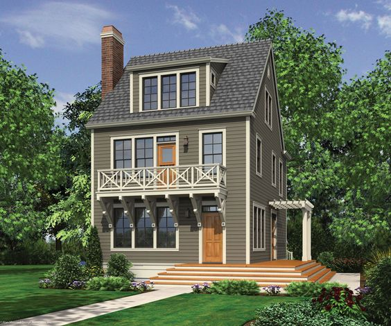 Pinterest the world s catalog of ideas for Narrow 3 story house plans