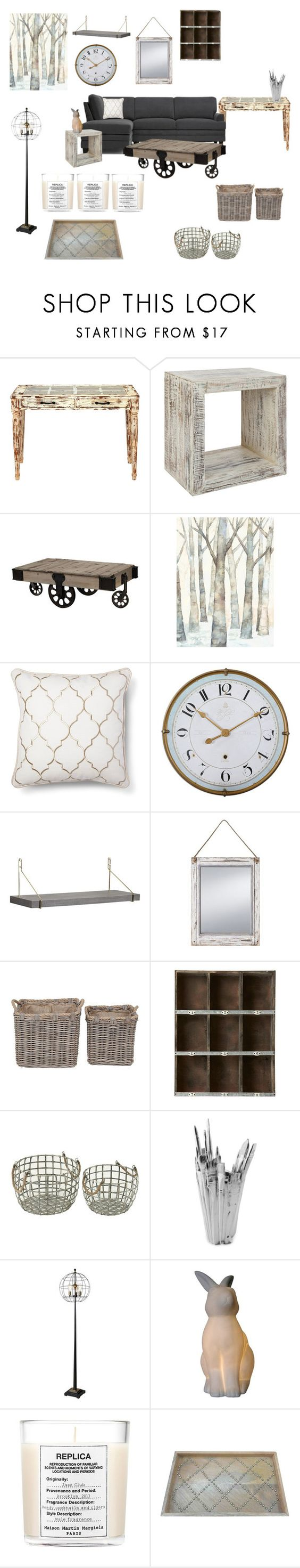 """Untitled #577"" by mrsmaggiemay ❤ liked on Polyvore featuring interior, interiors, interior design, home, home decor, interior decorating, Dot & Bo, Alouette, CB2 and Prinz"