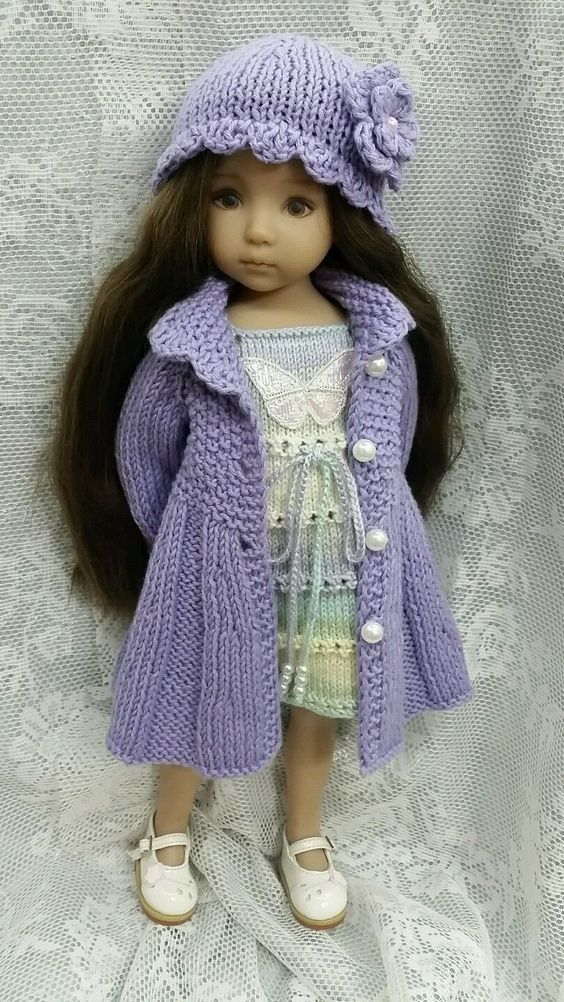 """Handknitted outfit for Dianna Effner Little Darling 13""""   eBay"""