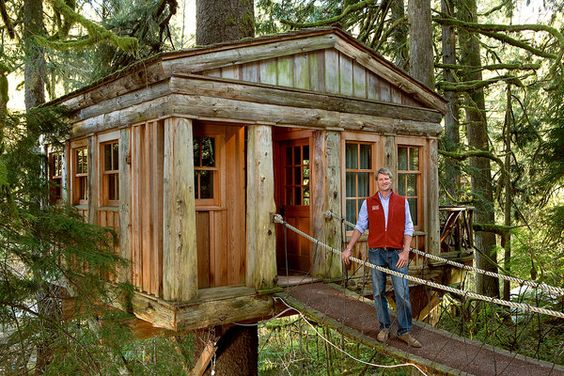 Temple of the Blue Moon with Pete Nelson. I'm hooked on Treehouse Masters!