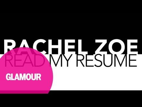 Rachel Zoeu0027s Career Advice How to Write a Resume - YouTube - youtube how to write a resume