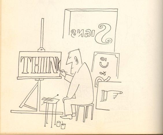 Saul Steinberg, Think