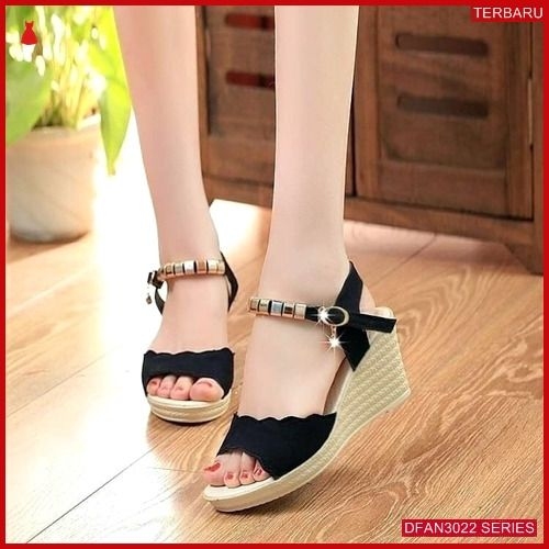 Dfan3022s173 Sepatu Pd07 Wedges Wedges Wanita Murah Terbaru
