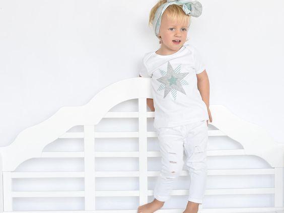 T-shirt im Partnerlook für Mutter und Kind / Baby mit Stern - hier zu kaufen!