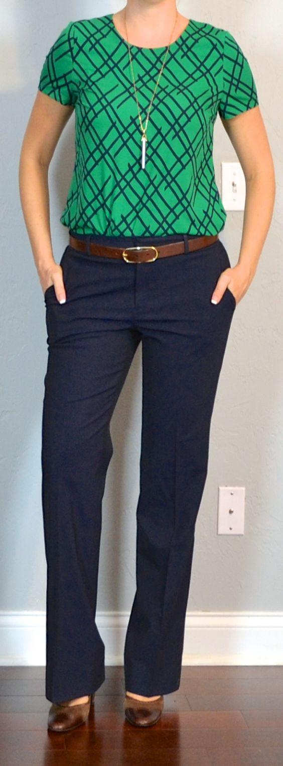 Chic Brown Pants Work